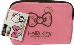 Hello Kitty Ribbon Pink Soft Case Mobil Phone Digital camera Game M Size Sanrio