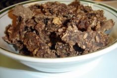 Chocolate Banana Granola | VegWeb.com, The World's Largest Collection of Vegetarian Recipes