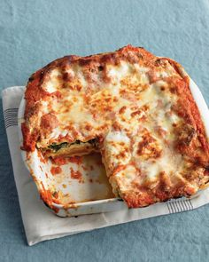 Roasted Vegetable Lasagna - Martha Stewart Recipes