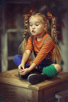 Anastasia Orub (born May 15, 2008) Russian child model. Natalia Zakonova Photography.