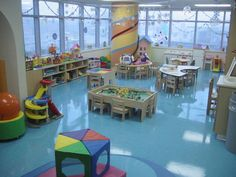Playroom, maybe not this big, but something like it.