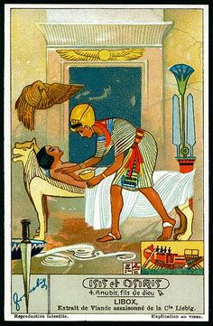 Liebig Tradecard S1280 - Isis & Osiris #4 | Flickr - Photo Sharing!