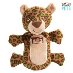 Martha Stewart Pets™ No Fill Safari Animal Dog Toys - PetSmart