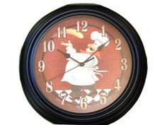 Show your sense of style with this humorous fat chef kitchen wall clock Featured in the center is an Italian fat chef tossing pizza dough. Fat Chef Kitchen Decor, Orange Kitchen Decor, Kitchen Decor Sets, Bistro Kitchen, Pizza Kitchen, Kitchen Wall Clocks, Dining Table In Kitchen, Country Kitchen, Kitchen Ideas