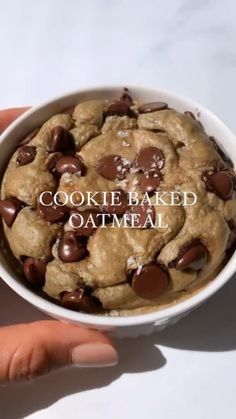 Healthy Dessert Recipes, Sweets Recipes, Healthy Desserts, Snack Recipes, Fun Baking Recipes, Cooking Recipes, Yummy Food, Baked Oats, Baked Oatmeal