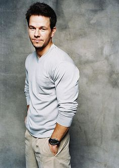 Mark Wahlberg I dont like him to muscular.  But in the fighter mmmmm just right