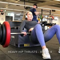 HIP THRUST VARIATIONS ✅ . Oh boy have I got some killer thrusters for you to try. I always do hip thrusts on leg day but I like to change them up. SWIPE TO VIEW❗️ . Useful info:- 1️⃣ heavy hip thrusts - try to keep building up to a heavy weight, here I'm doing 110kg. Hurts like crazy but this will massively help build your glutes. 2️⃣ feet elevated hip thrust - gives you a wider range of motion so makes it harder, I use light weight and hold the rep a second to feel the burn. Quite difficult…
