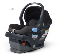 UppaBaby Mesa - works great with the Vista (and Cruz).  Easy to set up in car, bottom of base is smooth (don't need a seat protector), no rethread, baby seems comfortable in it.