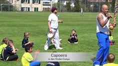 Capoeira in den Kinder Camps.