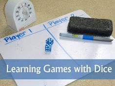 Learning Games with Dice | The Homeschool Classroom