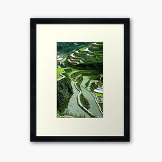 Volcano World, Rice Terraces, Framed Prints, The Incredibles, Artist, Artists