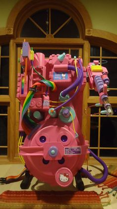 hello kitty ghostbuster proton pack!                                                                                                                                                                                 More