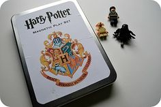 Happy Potter Magnetic Play Set #DIY