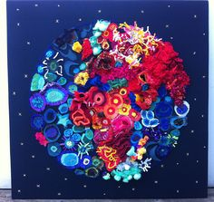 Coral reef planet created by Y6 group and Proteanart.com