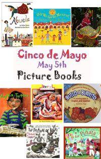Cinco de Mayo Picture Books for Preschool and Kindergarten