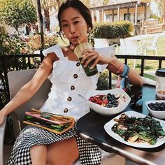 What to wear to brunch? Keep reading for our favourite brunch looks. Trending Songs, Favourite Festival, Aimee Song, Song Of Style, Street Looks, Festival Dress, Beautiful Blouses, New Trends, What To Wear