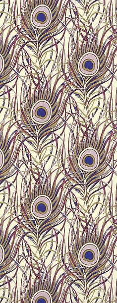 Purple peacock feather craft paper, made in Italy by Rossi