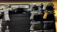 Build your gun room with our gun walls and racks. Made in the USA and Family Owned. Man Cave Guns, Gun Closet, Reloading Room, Tactical Wall, Man Cave Room, Weapon Storage, Gun Rooms, Custom Muscle Cars, Shooting Guns