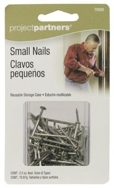 ProjectPartner 70000 Small Nails by Allied. $6.20. ProjectPartners are items to be used around the home.  Easy to use by the Do-it-yourselfers to complete the projects at home or office.  These are small nails for everyday use.
