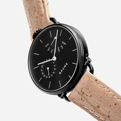 Baume natural, sustainable, upcycled watches made from watch straps sourced mindfully from responsible and certified partners. Even the cork strap is extracted from its tree source without disruption. We Watch, French Signs, Watches For Men, Men's Watches, Tomorrow Will Be Better, Watch Straps, Cork, Jewellery, Accessories