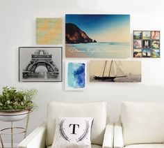 Beautiful, inspiring, and 100% you. Decorate with personalized wall art to turn your house into a home. Upload travel photos, favorite Instagram prints, or your own custom patterns to create one-of-a-kind decor. Shop home decor designs for canvas prints, metal prints, wood wall art, and more at www.shutterfly.com
