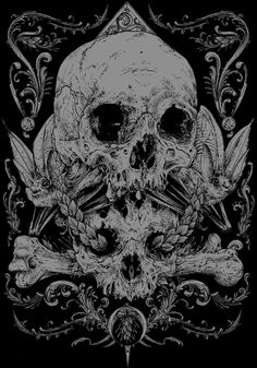 """obsessedwithskulls: """" Bad ass art by Rafal Wechterowicz, aka Raf the Might. https://www.facebook.com/raf.the.might """""""
