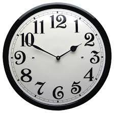 Leuke klok voor als je wilt weten hoe laat het is