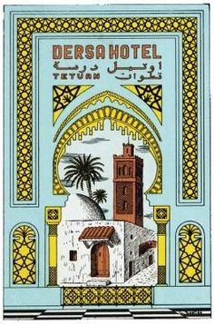 Hotel Dersa Tetouan | Morocco - Maroc Désert Expérience tours http://www.marocdesertexperience.com