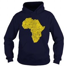 I Love African Continent Weathered Gold Tees Gold T Shirts, Mom Shirts, Shirts For Girls, Printed Shirts, Cat Sweatshirt, Crew Neck Sweatshirt, Tee Shirt, Fashion Portfolio Layout, Unique Hoodies