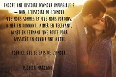 Citation amour impossible de Michela Marzano
