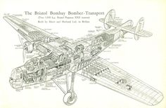 Bristol Bombay Bomber-Transport