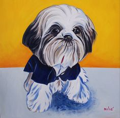 #1 artist in the world ranked on google for bulldog paintings. $400 for 20x20 oil on canvas, send in your own photo and get a custom painting done of your pet. order two paintings, you get the third one free :)