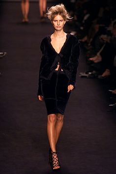 Yves Saint Laurent fall 2002 ready to wear collection.