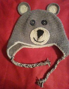handmade crochet hat Crochet Hood, Knit Crochet, Crochet Things, Crochet Crafts, Diy Crafts, Crochet Ideas, Crochet For Kids, Crochet Baby, Baby Kids
