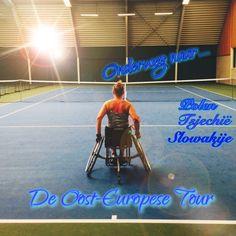 Onderweg naar de Oost-Europese Tour!  Polen, Tsjechië en Slovakije. #rolstoeltennis