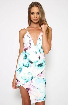Tonki Dress - Print | Clothes | Peppermayo