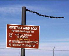 Montana Wind Sock