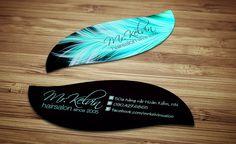 Mr. Kelvin - Name card hình dạng đặc biệt  Special Shape Business Card