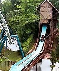 Busch Gardens Williamsburg, VA.  Didn't quite love this ride I shed some tears.  I'm a wimp when it comes to heights.