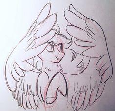 Wing Practice by Scarletskitty12.deviantart.com on @DeviantArt