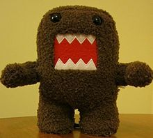IDEA: making Domo-kun crafts out of scraps of brown fabric.