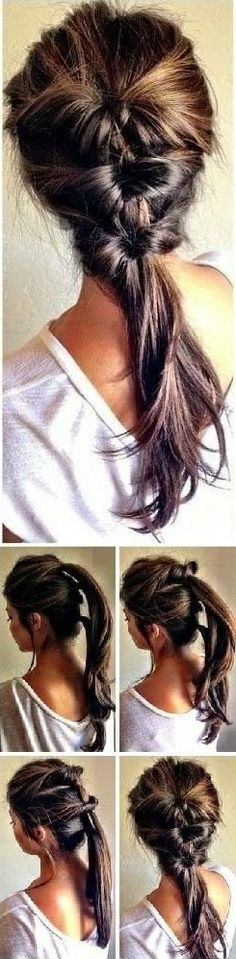 Amazing Hairstyle in Less than 5 Minutes - DIY