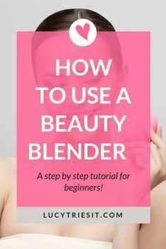 How To Use A Makeup Blending Sponge To Apply Foundation If you've been wondering how to use a beauty blender, then you've come to the [. Make Up Tools, Beauty Blender Sponge, Beauty Blender How To Use, Beauty Hacks For Teens, Makeup For Teens, Teen Makeup, How To Apply Foundation, No Foundation Makeup, Makeup Blending Sponge