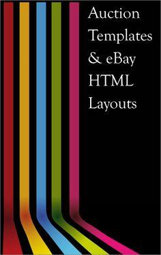 Auction Templates & eBay HTML Layouts