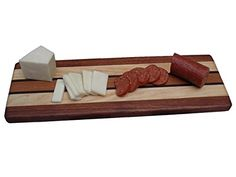Signature Collection Cheeseboard, Cutting Board - Sapele, Maple, Walnut