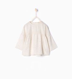 Large blouse with open back-Shirts-Girl (3-14 years)-KIDS | ZARA United States