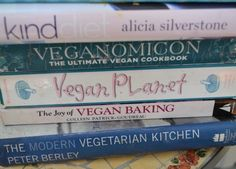 5 Kid-Friendly Vegan Cookbooks for Busy Families from Inhabitots - I actually have all 5 of these cookbooks & they're good! If I were to add 5 more books to the list, Veganomicon, Vegan Sandwiches Save the Day, Good Housekeeping Simple Vegan, Vegan Eats World, and Kidlicious would definitely make the cut!