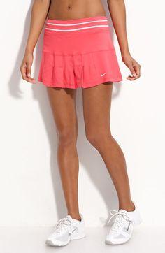Nike Smash Pleated Tennis Skirt in Pink