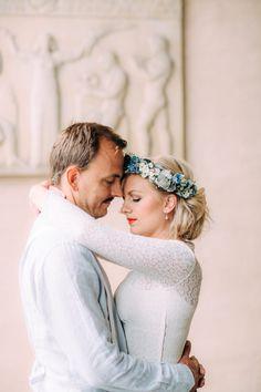 In Stockholm  I  Petra Veikkola Photography #styledshoot #bride #groom #portrait