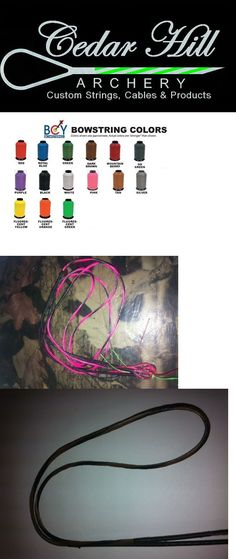 Strings 181305: Complete Bow String And Cable Set Any Pse Compound Bow 2 Colors W/ D Loop Bcy X BUY IT NOW ONLY: $55.0